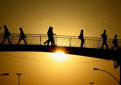 Por do Sol  na  Av. Brasil